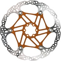 Hope Floating 2 Piece Rotors - 220mm 6-Bolt (Orange)