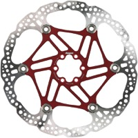 Hope Floating 2 Piece Rotors - 220mm 6-Bolt (Red)