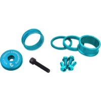 "Wolf Tooth Components Headset Bling Kit - 1 1/8"" Kit (Teal)"