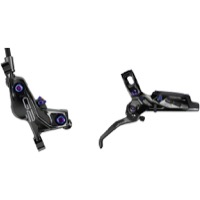 SRAM G2 Ultimate Disc Brakes - Rear, 2000mm (Gloss Black w/Rainbow Hardware)