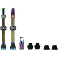 Muc-Off Tubeless Valve Kit - 60mm Valve Kit (Iridescent)