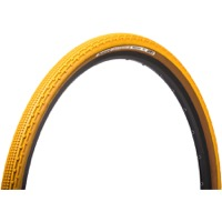 Panaracer GravelKing SK Tubeless Ready Tires - 700 x 38c, Folding Bead (Mustard Tread/Brown Sidewall)