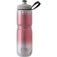 Polar Bottle Insulated Water Bottle - 24 Ounce - 24 oz. (Red/Silver Fade)