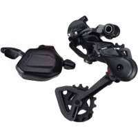 TRP TR12 1x Shifter and Derailleur Kit - Right Shifter / Rear Derailleur Kit, 12 Speed (Black)