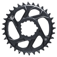 SRAM X-Sync 2 Eagle Cold Forged C1 FatBike 1x Ring - 30 Tooth, Direct Mount, -4mm Offset (Lunar)