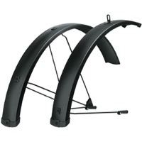 "SKS Bluemels 75 U Long Fender Set - Fits 27.5/29"" x 65mm (Black)"