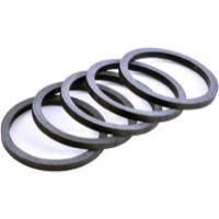 "Wheels Manufacturing 1.5"" Steerer Headset Spacers 10mm Height Packs of 3"