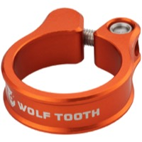 Wolf Tooth Components Seatpost Clamp - 28.6mm (Orange)