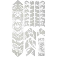 All Mountain Style Basic Honeycomb Frame Guard - Extra (Bear/White)