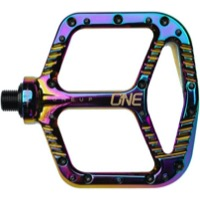 OneUp Components Aluminum Platform Pedals - Pair (Oil Slick)