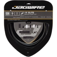 Jagwire Elite Sealed 1x Shift Cable/Housing Set - Stealth Black