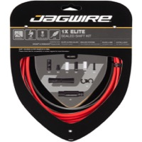 Jagwire Elite Sealed 1x Shift Cable/Housing Set - Red