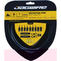 Jagwire Mountain Pro Shift Cable/Housing Set 2016 - Teflon Coated Cables - Kit, Teflon Coated Cables (Black Carbon Housing)