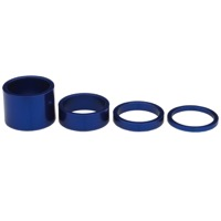 Chris King Headset Spacer Kits - Navy Blue - 1 1/8