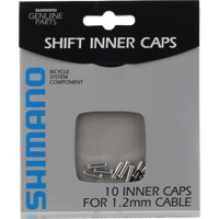 10 Pack Cable Tips - Shimano derailleur 1.1/1.2mm (Silver) 10/Bag