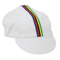 Pace Traditional Cycling Cap - White - One Size Fits All (White)