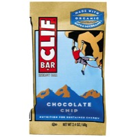 Clif Bar Original Bars - Chocolate Chip (Box of 12)