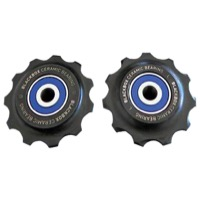 Sram Mountain Derailleur Pulley Sets - '08+ XO, '10+ XX Ceramic Bearings (Pair)