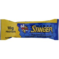 Honey Stinger 10g Protein Bar - Dark Chocolate Coconut Almond (Box of 15)