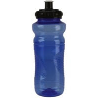 Soma Polypropylene Waterbottle - Blue w/Black Cap