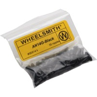 Wheelsmith Nipples - Black Alloy 12mm