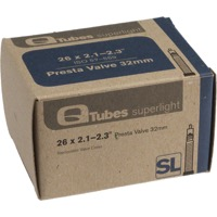 "Q Tubes Super Light Presta Tubes - 26"" - 26"" x 2.1-2.3"" 32mm PV"