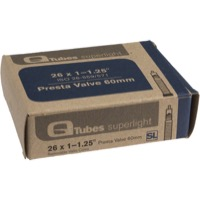 "Q Tubes Super Light Presta Tubes - 26"" - 26"" x 1-1.25"" 60mm PV"