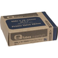 Q Tubes Super Light Presta Tubes - 650c - 650c x 18-23 (48mm PV)