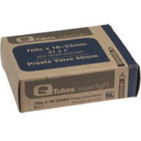Q Tubes Super Light Presta Tubes - 700c - 700 x 18-23c (60mm PV)