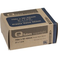 Q Tubes Super Light Presta Tubes - 700c - 700 x 35-43c (32mm PV)