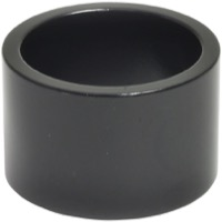 "Wheels Manufacturing Alloy 1"" Headset Spacers - 1"" x 20mm Each (Black)"