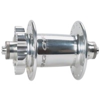 Chris King ISO Disc Front Hub - Silver 32h - 100mm Spacing