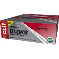 Clif Bar Shot Bloks Energy Chews - Strawberry (Box of 18)