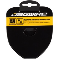 Jagwire Sport Slick Stainless Brake Cables - Shimano 1700mm (Mountain & Road)