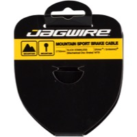 Jagwire Sport Slick Stainless Brake Cables - Shimano 1700mm (Mountain Only)