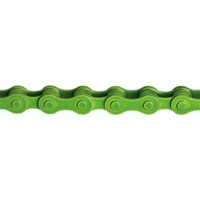 "KMC Z410 1spd Chain - 1/8"" Single Speed (Green)"