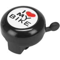 "Dimension ""I Heart My Bike"" Black Bell - Black"
