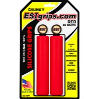 ESI Chunky Grips - Pair (Red)