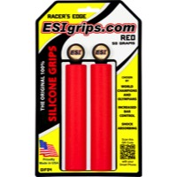 ESI Racers Edge Grips - Pair (Red)