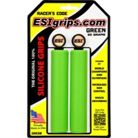 ESI Racers Edge Grips - Pair (Green)