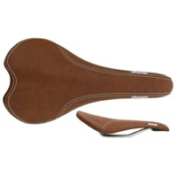 Charge Bikes Spoon Saddles - Dark Brown (CrMo Rails)