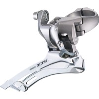 Shimano FD-5700 105 Double Front Derailleur - 10 Speed - 28.6/31.8mm (Silver)