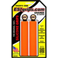 ESI Racers Edge Grips - Pair (Orange)