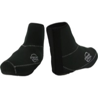 Planet Bike Comet Shoe Covers - Small (Black)