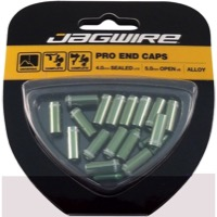 Jagwire End Cap Hop-Up Kits - Cash Green (4mm)