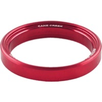 Cane Creek 110 Series Alloy Interlok Spacers - 5.0mm Interloc (Red)