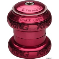 "Chris King Griplock No Threadset - Pink 1 1/8"" (Sotto Voce Logo)"
