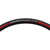 Michelin Dynamic Sport Tire - 700 x 23 (Black/Red)