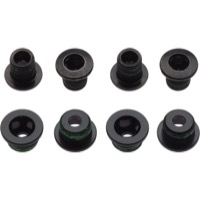 Sram/Truvativ Chainring Bolt Sets - 8pc Double Alloy/Steel Black (Fits X.0, X.9 2x10)