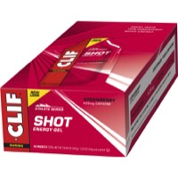 Clif Bar Shot Gels - Strawberry w/ Caffeine (24 Pack)